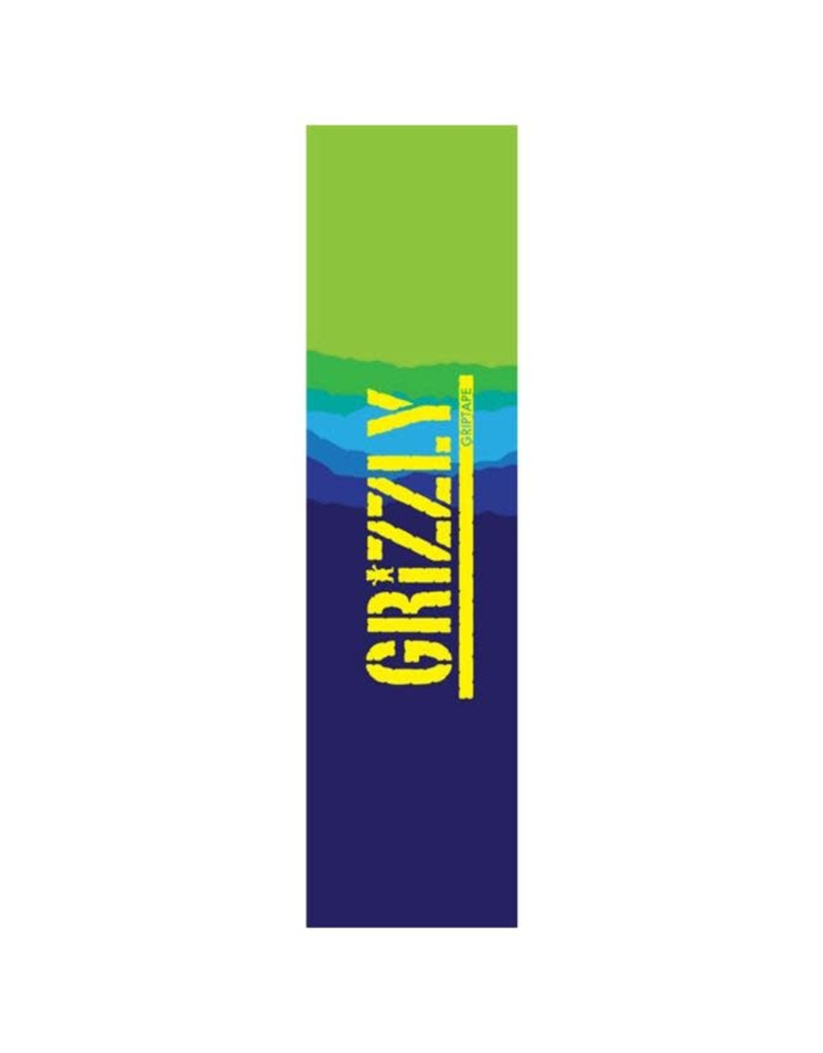 Grizzly - Gripetape range stamp dark blue gradient