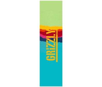 Grizzly - Griptape range stamp teal gradient