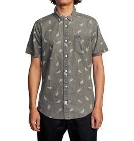 rvca Rvca - Chemise homme hastings floral washed black
