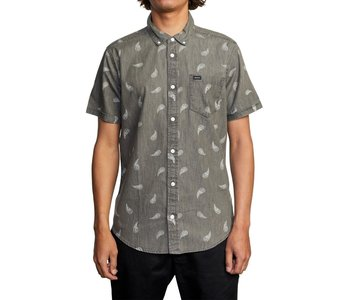 Rvca - Chemise homme hastings floral washed black