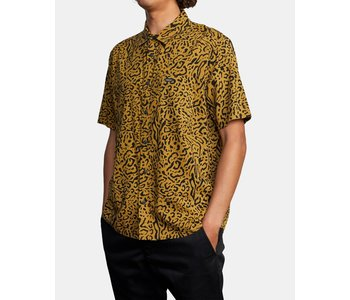 Rvca - Chemise homme strangers leopard