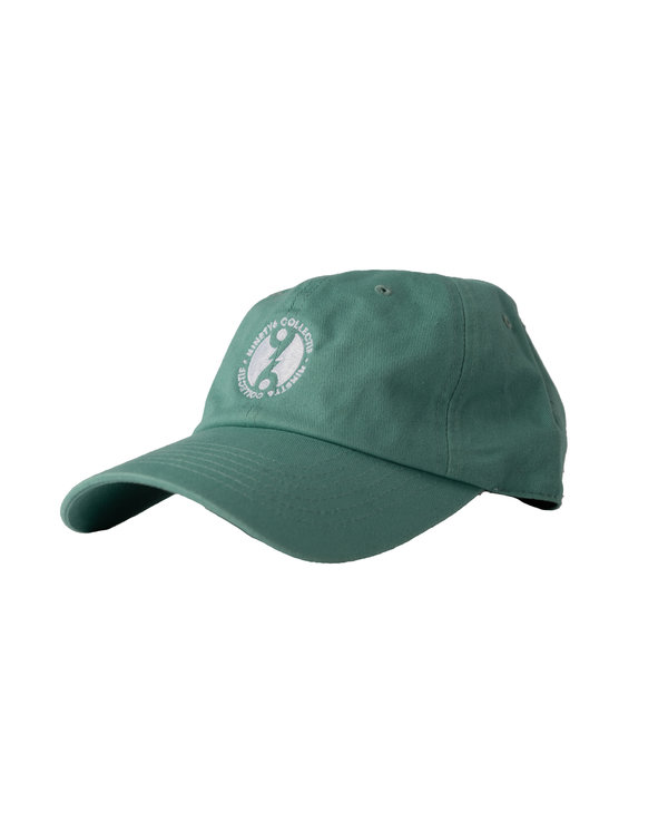96 Collectif - Casquette homme full circle turquoise