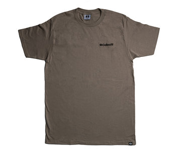96 Collectif - T-shirt homme crest taupe