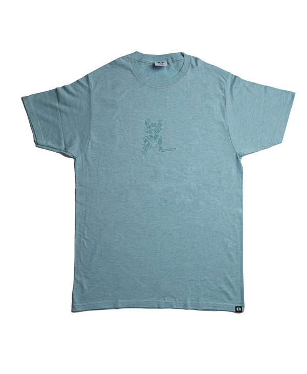 96 Collectif - T-shirt homme nazca spider