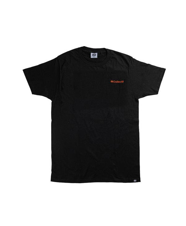 96 Collectif - T-shirt homme crest noir