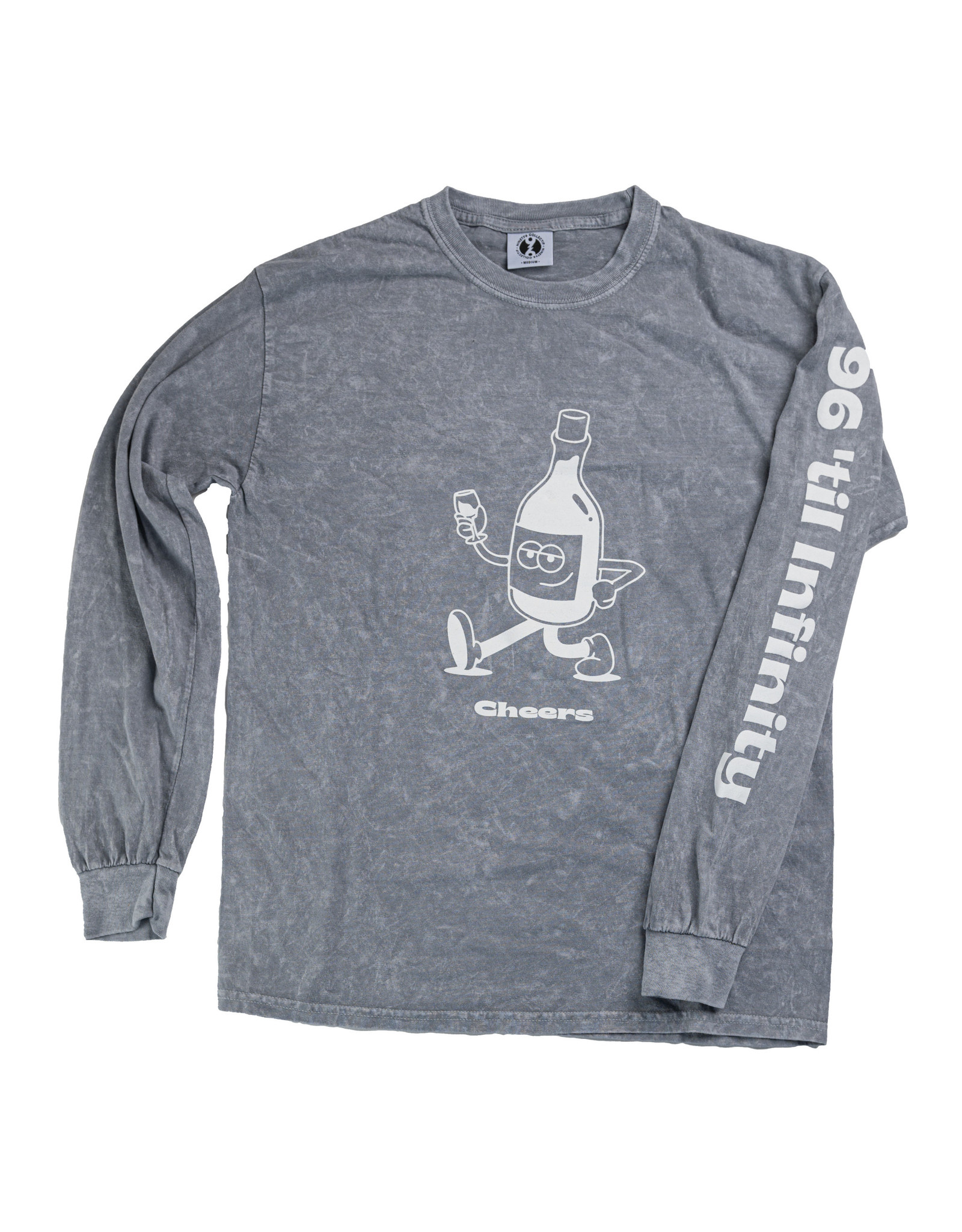 96 COLLECTIF 96 Collectif - Chandail long homme cheers die