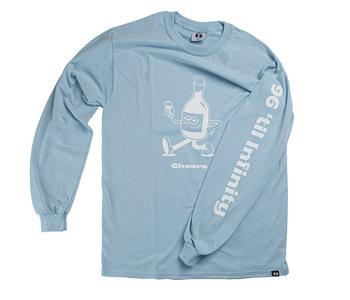 96 Collectif - Chandail long homme cheers bleu