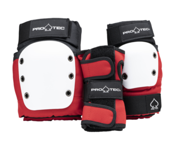 Pro-tec - Protection junior 3 pack sets -red white black