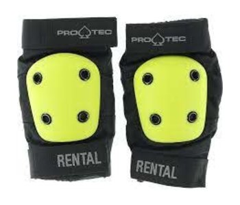 Pro-tec - Protection rental coudes b-black yellow