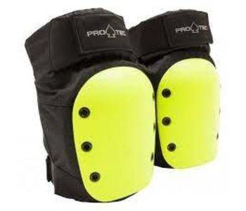 Pro-tec - Protection rental genoux -black yellow