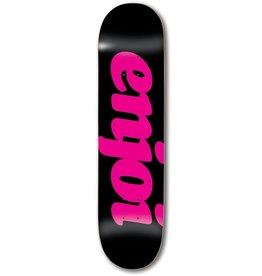 Enjoi - Skateboard flocked hyb black