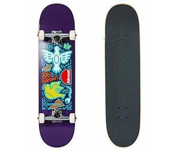 Almost - Skateboard skateistan sky doodle fp purple