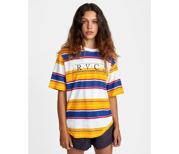 Rvca - T-shirt femme constructed vintage white