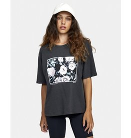 rvca Rvca - T-shirt femme framed washed black