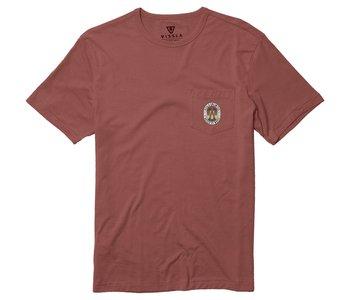 Vissla - T-shirt homme playa palma rust red