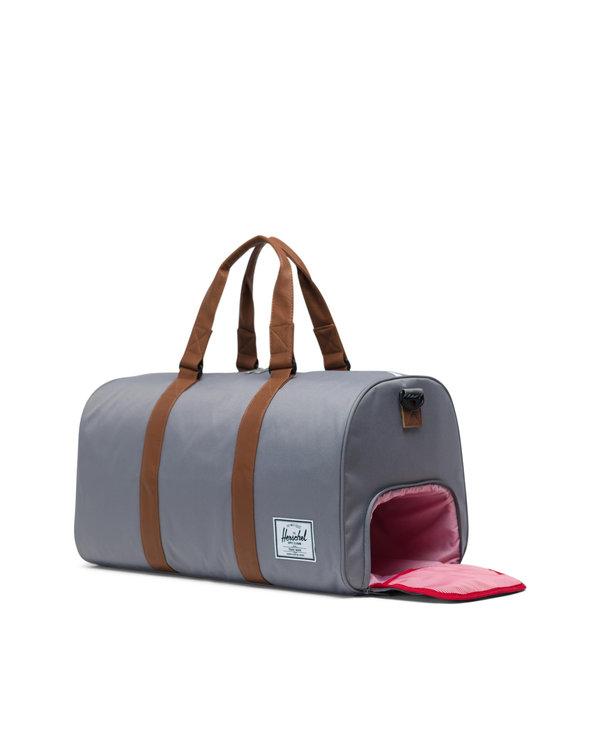 Herschel - Sac transport novel grey/tan synthetic leather