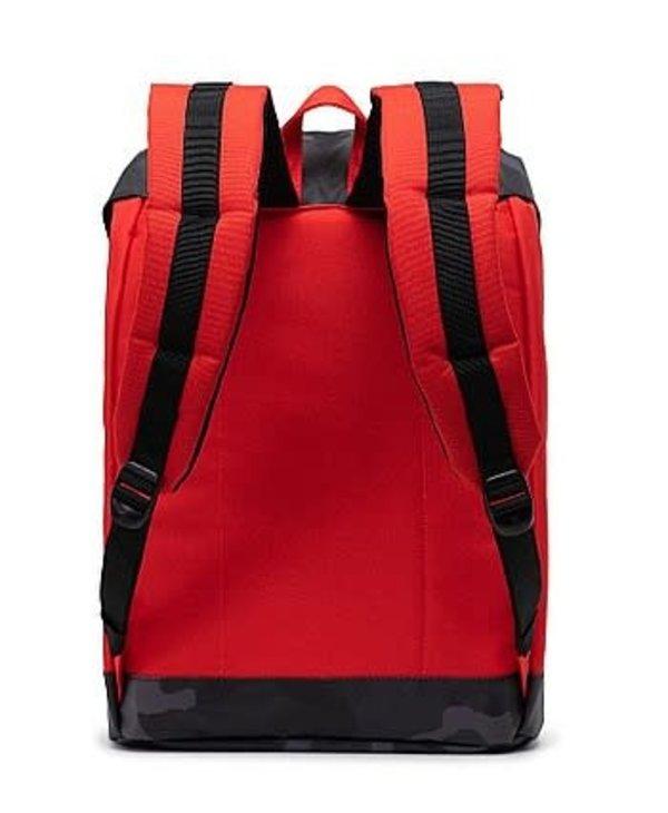 Herschel - Sac à dos retreat fiery red/night camo