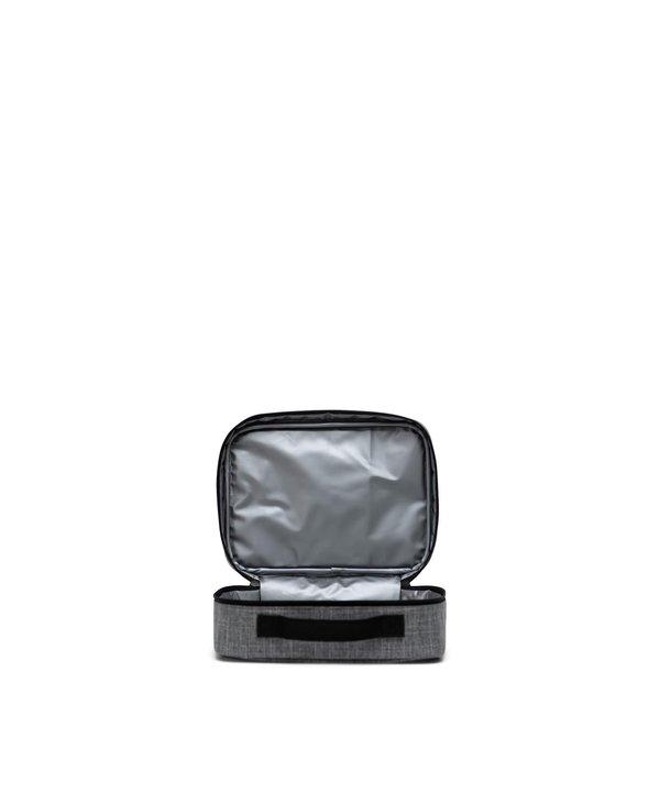 Herschel - boîte à lunch pop quiz raven crosshatch