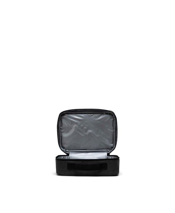 Herschel - Boîte à lunch pop quiz black crosshatch