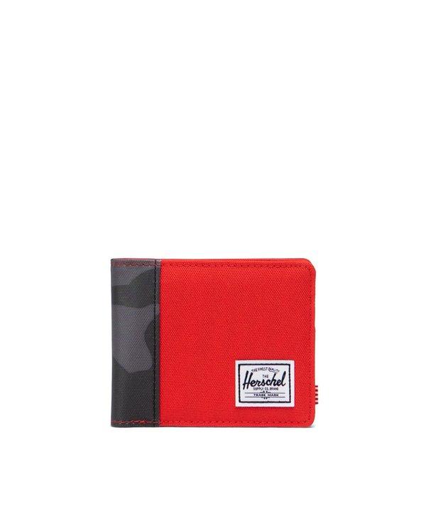 Herschel - Portefeuille roy fiery red/night camo
