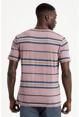 Brixton Brixton - T-shirt homme hilt pocket knit washed concord