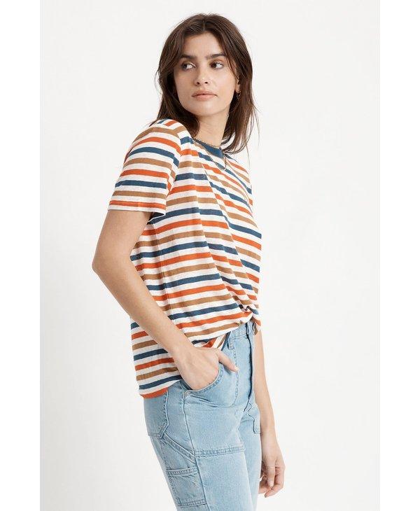 Brixton - T-shirt femme hilt w off white