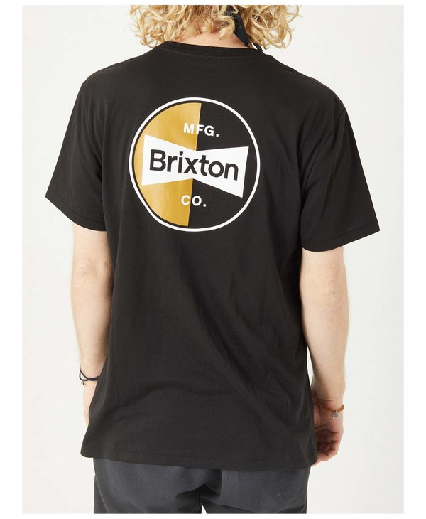 Brixton - T-shirt homme patron black
