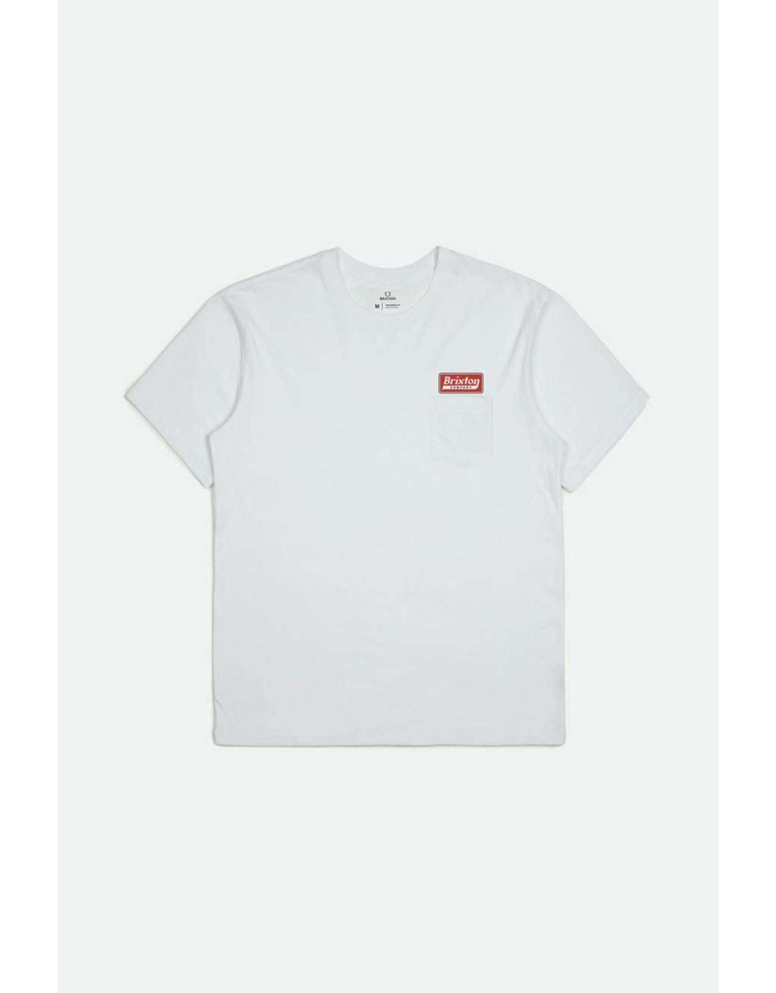 Brixton Brixton - T-shirt homme steadfast white