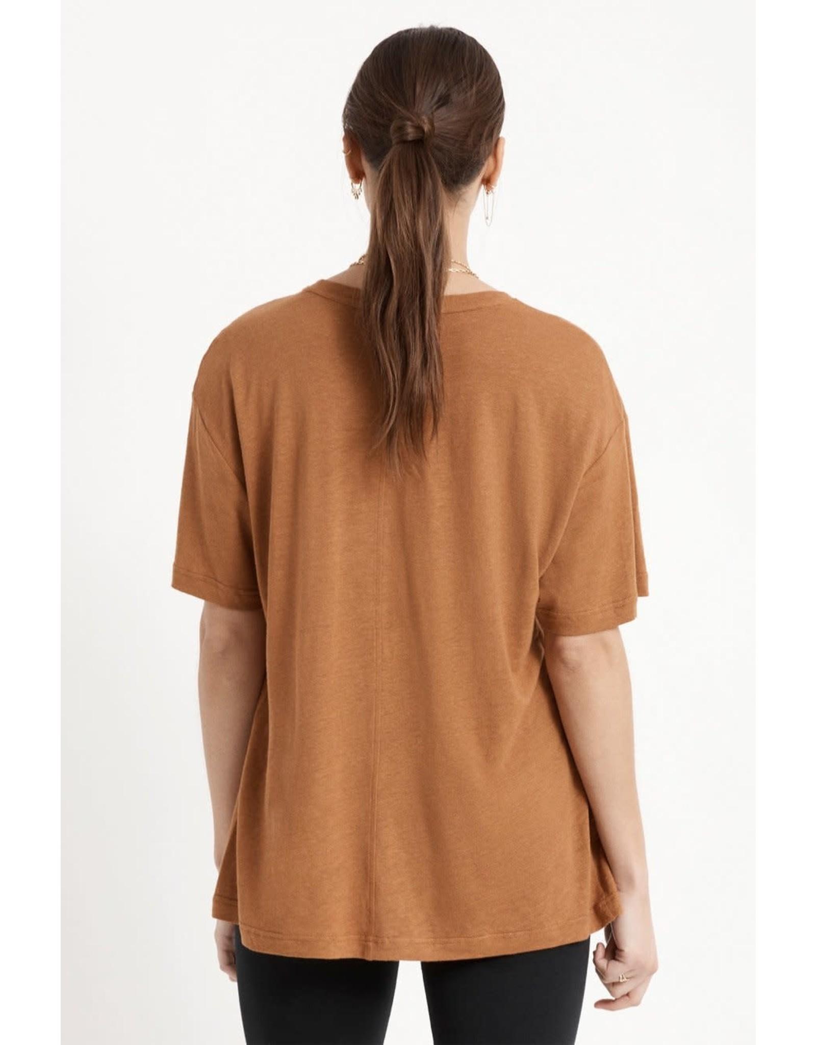 Brixton Brixton - T-shirt femme montauk oversized lion