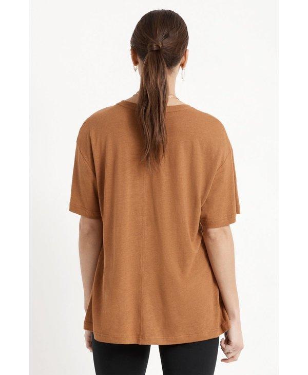 Brixton - T-shirt femme montauk oversized lion