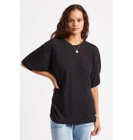 Brixton Brixton - T-shirt femme montauk oversized black