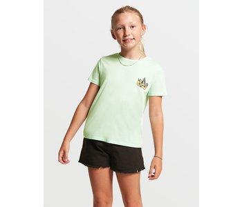 Volcom - T-shirt junior last party sea green