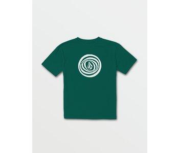 Volcom - T-shirt junior big blot spruce green
