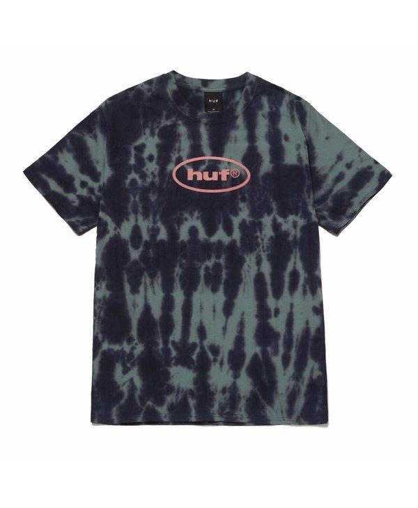 Huf - T-shirt homme lsd tie dye navy