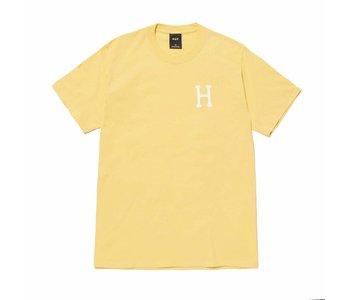 Huff - T-shirt homme essentiels classic h washed yellow