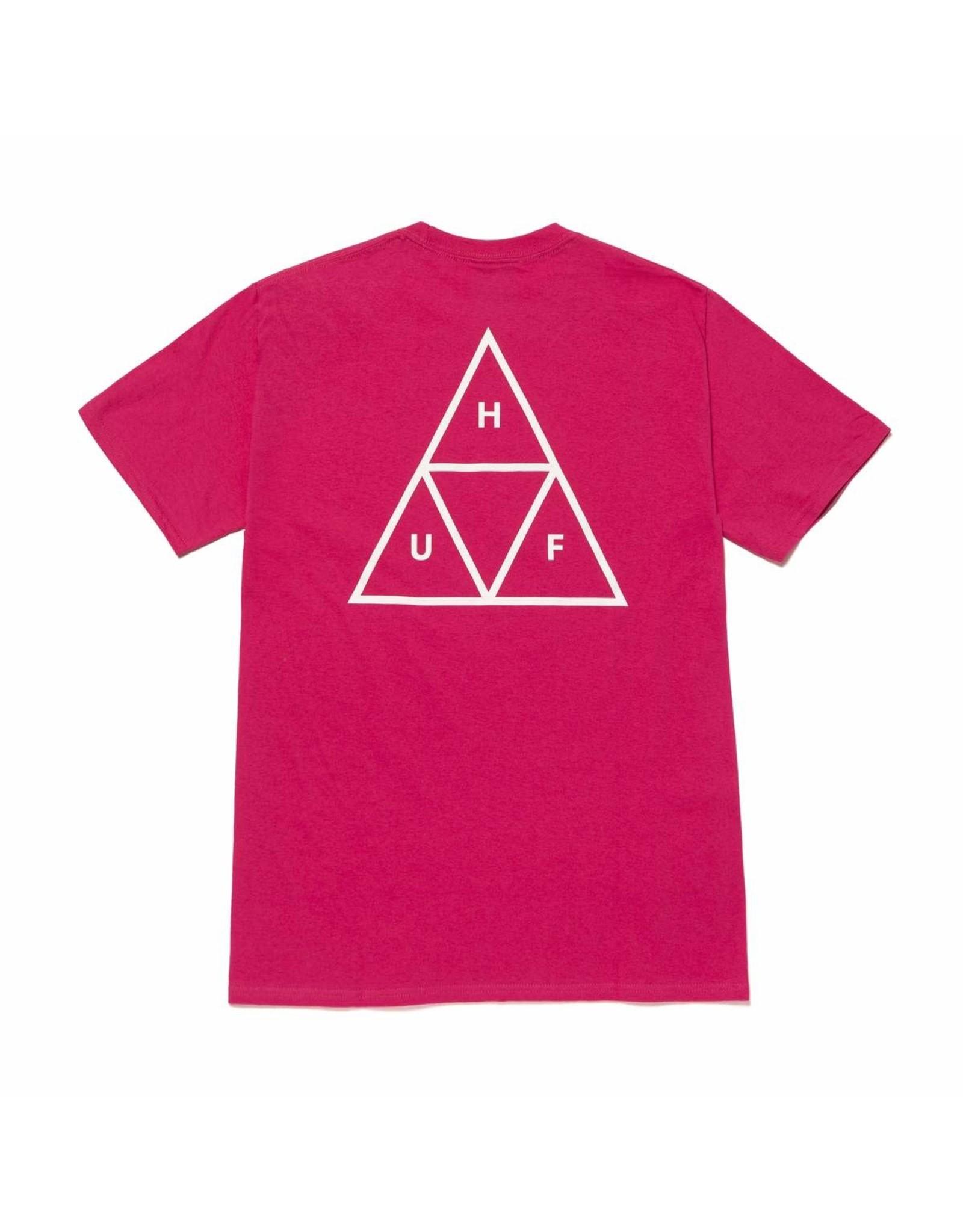 huf Huf - T-shirt homme essentials tt sangria