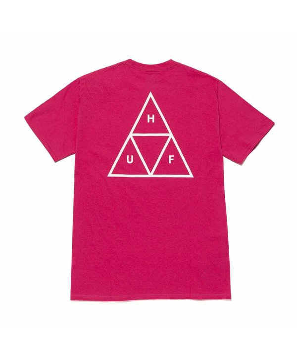 Huf - T-shirt homme essentials tt sangria
