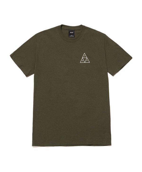 Huf - T-shirt homme essentials tt olive