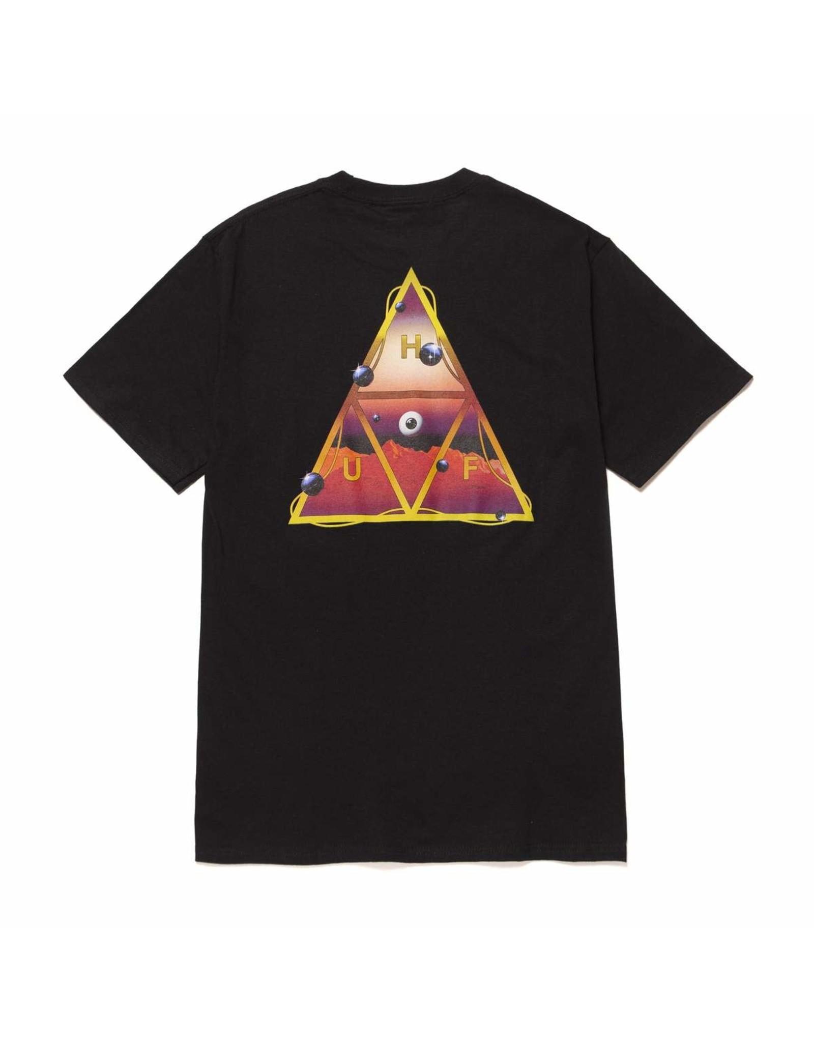huf Huf - T-shirt homme altered state black