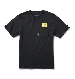 vans Vans - T-shirt homme spongebob spotlight kids pocket