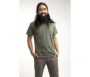 Rhythm -T-shirt homme orchid olive