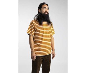 Rhythm - T-shirt homme vintage stripe almond