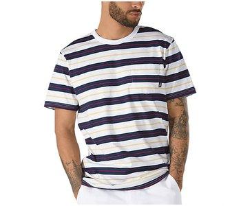 Vans - T-shirt homme harmon white/deep ultramarine