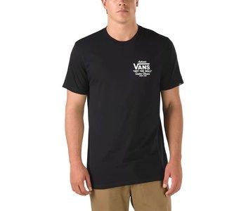 Vans - T-shirt homme holder street ll black/white
