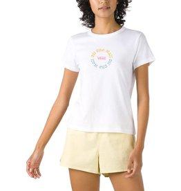 vans Vans - T-shirt femme tripical white