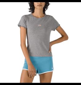 vans Vans - T-shirt femme tiny v cement heather