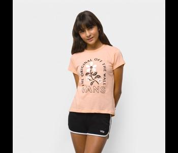 Vans - T-shirt junior bloom doom girls peach nectar