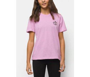 Vans - T-shirt junior dual palm orchid