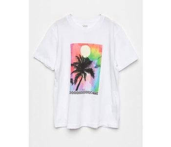 Vans - T-shirt junior 5th street white