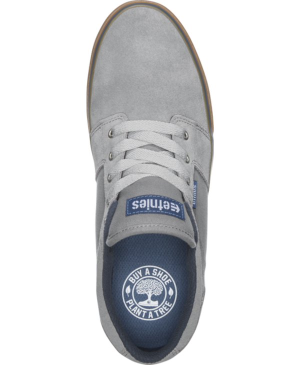Etnies - Soulier homme Barge ls grey/blue/gum